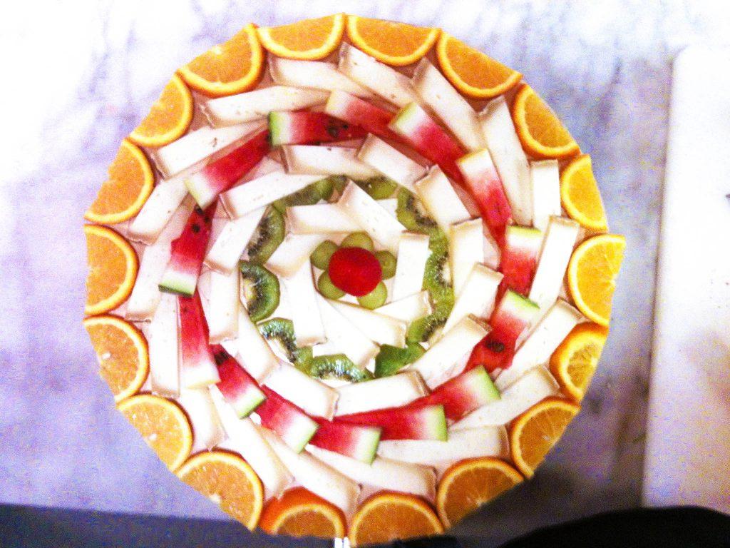 Composizione di Formaggi e Frutta